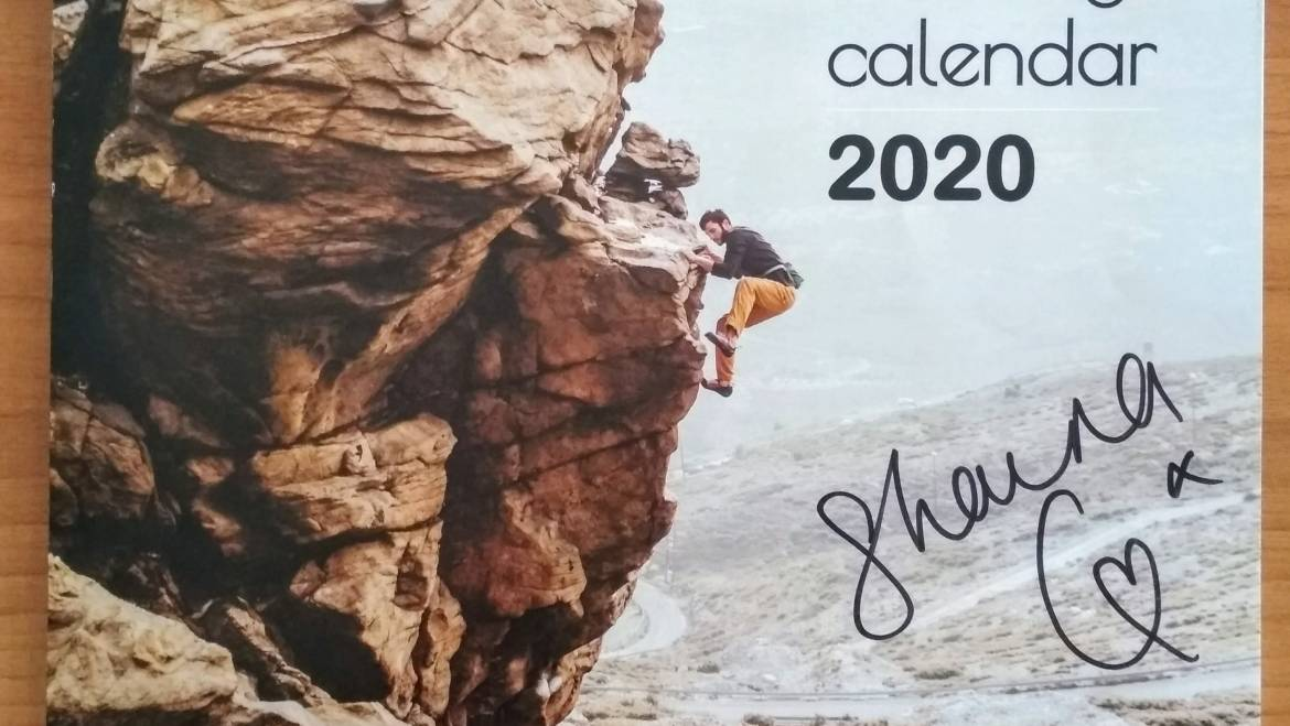 Win a collectible calendar signed by Shauna Coxsey !